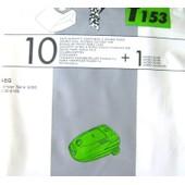 Menalux T153 - 10 sacs aspirateur +1 micro filtre pour AEG vampyr serie 5000 , 5030