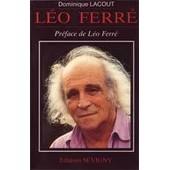 Leo Ferre Leo Ferre de dominique lacout