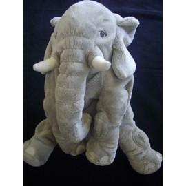 Doudou �l�phant Elefant Klappar Ik�a Peluche Gris 30 Cm Assis