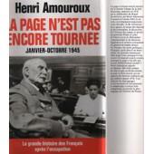 La Grande Histoire Des Francais Sous L'occupation La Page N'est Pas Encore Tourn�e Tome 10 de henri amouroux