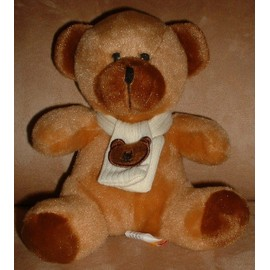 Peluche Doudou Fizzy Ours �charpe