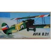 Maquette Kp Avia B 21 - 1/72 (17)