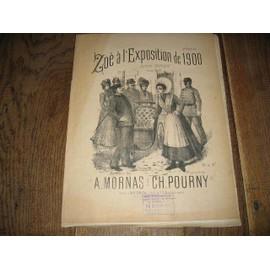 zoe a l'exposition de 1900 mornas ch pourny