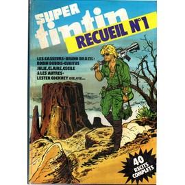 Album De Recueil De Super Tintin N�1