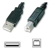 Cable Imprimante USB HP C6518a pour Scanjet, OfficeJet, Inkjet, Picturemate, Photosmart, Laserjet, Deskjet All in One 1 Monolaser Scanjet Laser Digital sender