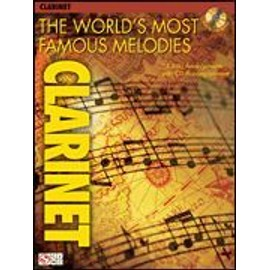 The world's most famous melodies for clarinet (+ 1 CD) - clarinette - Hal leonard