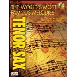 The world's most famous melodies for ténor sax (+ 1 CD) - saxophone - Hal leonard