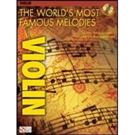 The world's most famous melodies for violin (+ 1 CD) - violon - Hal leonard