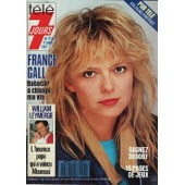 T�l� 7 Jours / 06-07-1987 N� 1415 : France Gall (2p) - Catherine Deneuve / Yves Montand (2p) - Chantal Goya (2p)