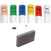 Kit Testeur Or 9/14/18/24 Carats + Argent + Platine + Pierre De Touche *M�dium* - Test Or - Kit Pour Tester L'or L'argent Et Le Platine