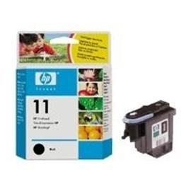 Hp 11 - Noir - T�te D'impression - Pour Business Inkjet 1000, 1200, 2300, 2800; Designjet 11x, 510, 70, 820; Officejet Pro K850