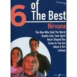 Nirvana : 6 of the best - guitare - Faber