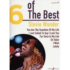 Stevie Wonder : 6 of the best - chant + piano + accords - Faber
