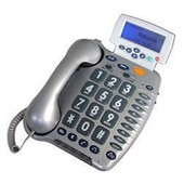Geemarc CL290 - Telephone larges touches sms silver