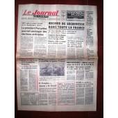 Le Journal Du Centre 1971 N� 8452 : Record De S�cheresse Dans Toute La France En Normandie On A Commenc� � Rationner L'eau Potable
