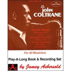 Jamey Aebersold Jazz Tome 28-John Coltrane-8 jazz originals (1 CD)