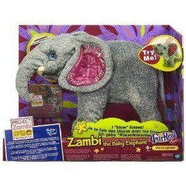 Peluche Interactive - Zambie L' �l�phant Fur Real