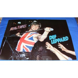 """Poster """" Def Leppard"""""""