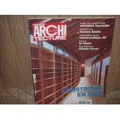 Le Moniteur De L'architecture N� 59 : Construire En Bois/Claude Ferret/La Havre/�crans Tiss�s/Christian Hauvette/Constructique 95