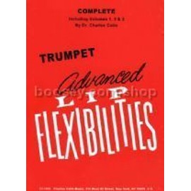 Trumpet advanced lip flexibilities