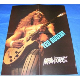 """Poster """" TED NUGENT"""""""