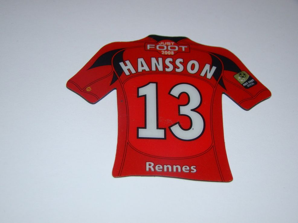 Magnet Just Foot 2008 Hansson Rennes 13