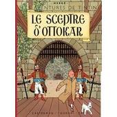 Le Sceptre D' Ottokar - Les Aventures De Tintin. Quatri�me Plat B1 / Dos Rouge / Titre En Rouge Page De Titre. de herg�