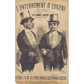 L'enterrement d'Eugène, scène comique