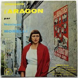 """""""chansons d' aragon"""" l'affiche rouge / Les roses du jour de l'an / il n'y a pas d'amour heureux / l'étrangère / Elsa / Est-ce ainsi que les hommes vivent / les noyés d'avigon / etc."""