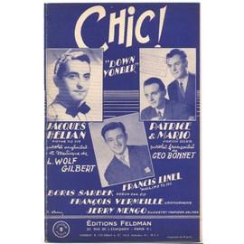 """chic ! """"down yonder"""" / jacques hélian, francis linel, patrice & mario, lucien jeunesse, henri decker, simone alma, les bingsters, jerry mengo, etc."""
