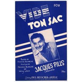 vide ton sac (fox) / jacques pills