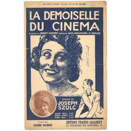 """la demoiselle du cinéma """"the girl on the film"""" / jenny golder, suzanne valroger (édition originale de 1922)"""