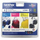 Cartouche Compatible Brother Lc980 N/C/M/J - Pack De 4
