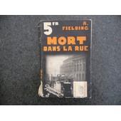 Mort Dans La Rue ( Death On John Tait ). de FIELDING.A