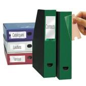 Porte Etiquette Adhesive Pp 35x75 - Blister De 12