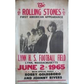 the rolling stones affiche de concert - 55x35 cm