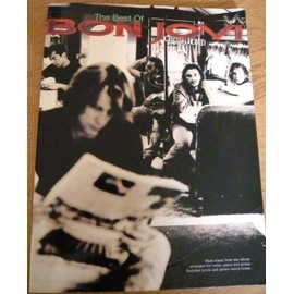 Bon Jovi: Cross Road Piano, Vocal & Guitar (with Chord Boxes)
