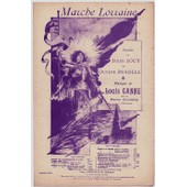 Marche Lorraine / Cr��e Par Marius Richard � L' Eldorado (Chant Seul)