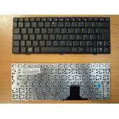 Clavier AZERTY fran�ais noir pour PC portable ASUS EEEPC 1000 1000H 1000HA 1000HC 1000HE 1000HD 1000HV 1002HA 1002SA