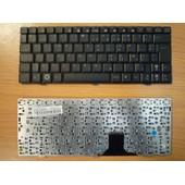 CLAVIER AZERTY Fran�ais pour ASUS EEEPC EEE PC 1000 1000H 1000HE Series, P/N: 0KNA-0U3FR03 04GOA0U2KR10-3 9J.N1N82.10F, Noir / Black