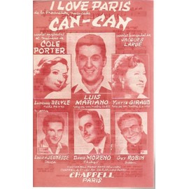 i love paris can-can