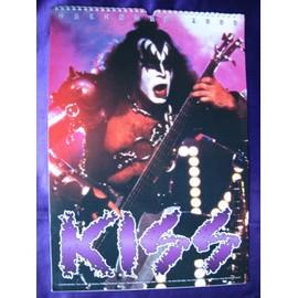 KISS Calendrier 1999 Gene Simmons en couverture.