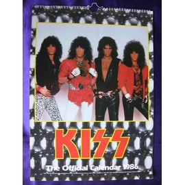 KISS  Calendrier officiel 1986