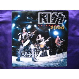 KISS  Calendrier officiel 2000