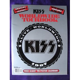 KISS Worldwide Tour Book 1997 + Giant Poster 1998