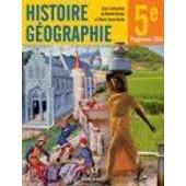 Histoire Geographie 5e de RACHID AZZOUZ