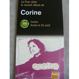 PLV nouvel Album Corine Marionneau / Téléphone