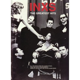 INXS - THE GREATEST HITS - Piano/Voice/guitar