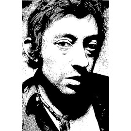 poster serge gainsbourg affiches de serge gainsbourg posters affiche murale. Black Bedroom Furniture Sets. Home Design Ideas