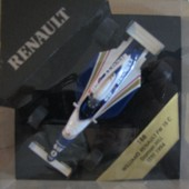 Modele R�duit Williams Renault Fw 15 C Damon Hill Test 1994